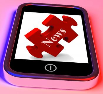 News Smartphone Shows Read Or Watch Latest Updates On Web