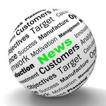 News Sphere Definition Means Global Headlines Or International News