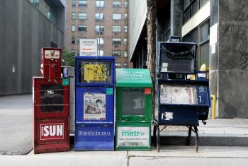 Newspaper Bins