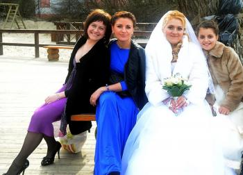 Nice Family with Bride