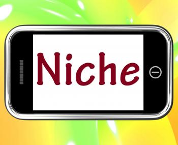 Niche Smartphone Shows Web Opening Or Specialty
