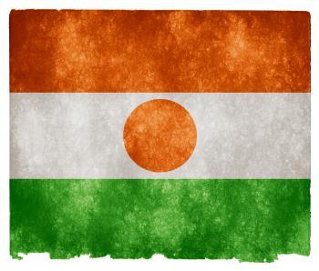 Niger Grunge Flag