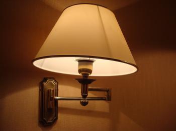 Night hotel lamp