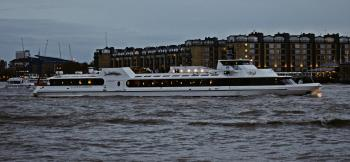 Night life on the River Thames