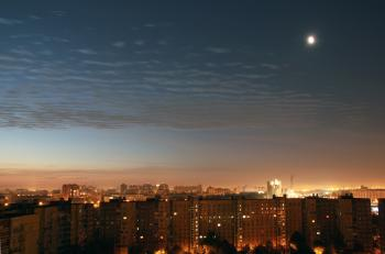 Night over Saint Petersburg