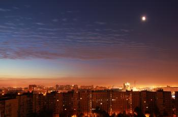 Night Saint-Petersburg