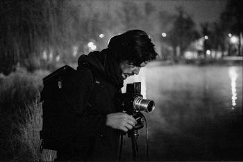 Night shoot with the hasselblad