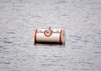 No Wake Buoy