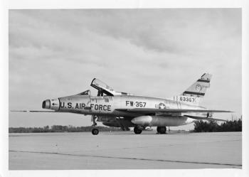 North American F-100D-80-NH