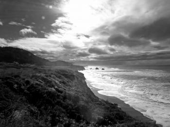 NORTH COAST, CA ( 1-4-2017) howard landing, westport-union state beach, mendocino co, ca -08 BW