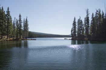 North Shore, Waldo Lake, Oregon
