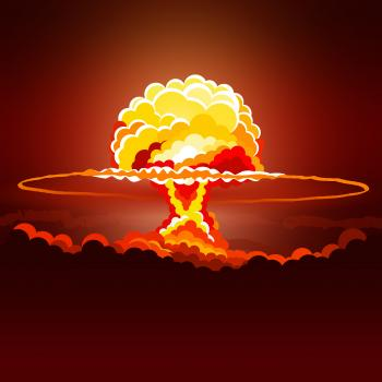 Nuclear Explosion - Illustration