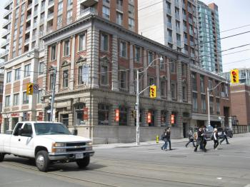 NW corner of King and Sherbourne