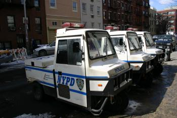 NYPD patrol vehicle