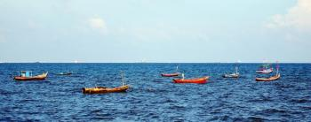 Ocean Fishing Boats