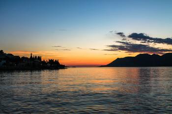 Ocean summer sunset