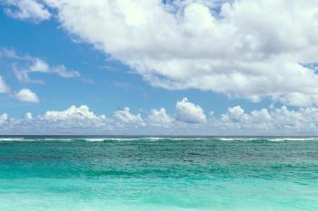 Ocean Under Calm Sky