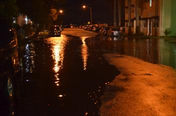 Oct 16 2016 night tidal flood 23 street edgewater