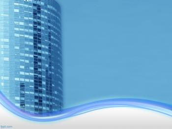 Office Building PowerPoint Background