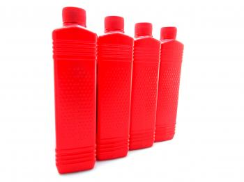 Oil plastic bottles