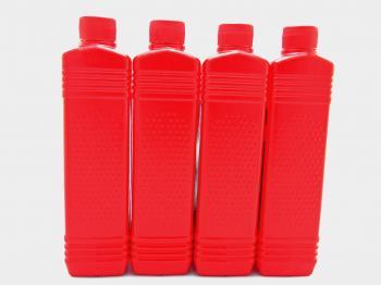 Oil plastic bottles