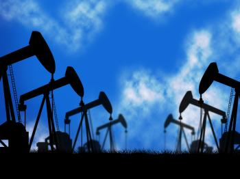 Oil Wells Represents Extraction Drill And Oilwell
