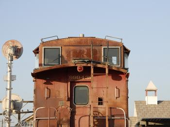 Old Caboose 439