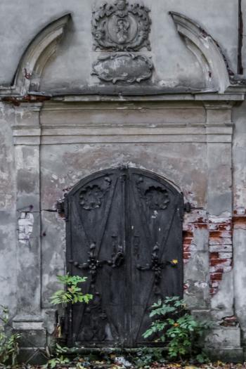 Old church doors