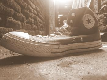 Old Converse Shoe
