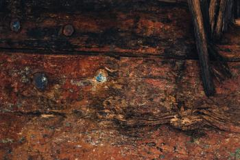 Old Dark Grunge Wood Texture