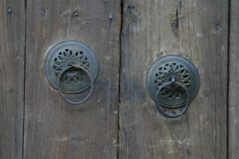 Old Door handles