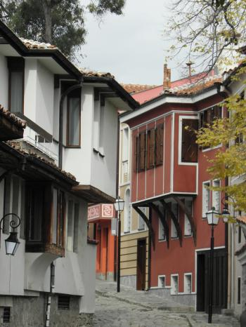 Old houses from18-19 century