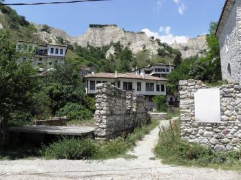 Old houses in Melnik