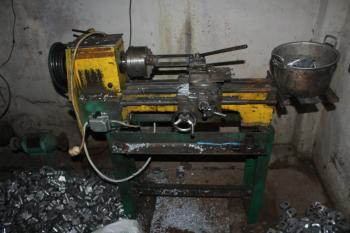 Old Metalworking Lathe