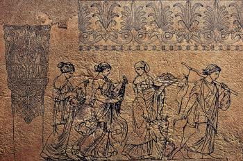 Old Mural Carving