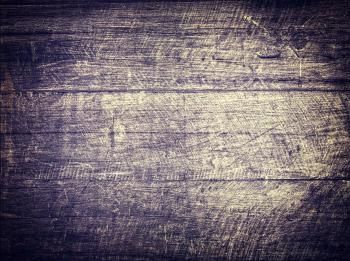 Old scratched wood background