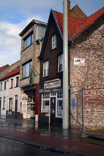 Old stores in Brugge, Belgium