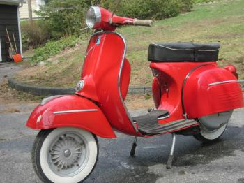 Old style scooter