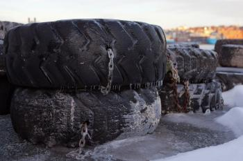 Old Tires for Wharf