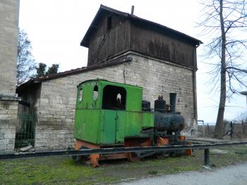 Old Train in Ruse,Bulgaria