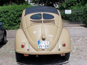 Old Volkswagen Beetle from World War 2