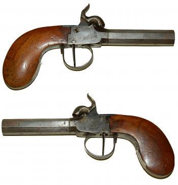 Vintage Wooden Pistol