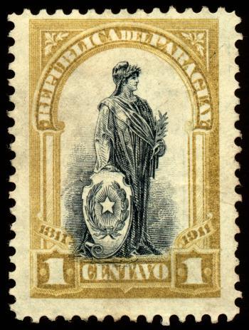 Olive Allegory Stamp