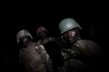On night operations with the African Union Mission in Somalia 07