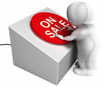 On Sale Pressed Shows Discounts And Special Offer