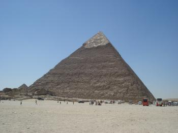 One of 3 Pyramids in Giza