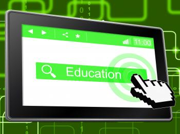 Online Education Indicates World Wide Web And Learning