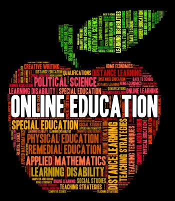 Online Education Shows World Wide Web And College