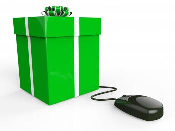 Online Gift Shows World Wide Web And Box