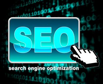 Online Seo Represents World Wide Web And Optimization